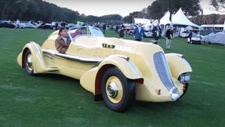 coches americanos más caros Duesenberg SJ Speedster 'Mormon Meteor' de 1935