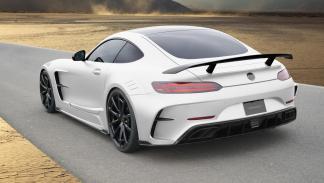 Mercedes-AMG GT preparado Mansory culo