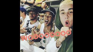 Hamilton, Neymar y Justin Bieber.