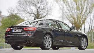2 Comparativa: Volvo S90/Jaguar XJ/Maserati Quattroporte