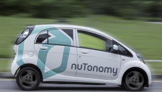 taxi sin conductor compite coche autonomo google singapur