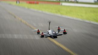 nissan gt-r drone presentacion 185