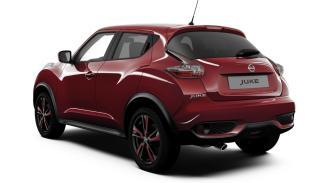 Nissan Juke Dynamic rojo trasera