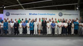 SS.MM. los Reyes visitan Volkswagen Navarra 2