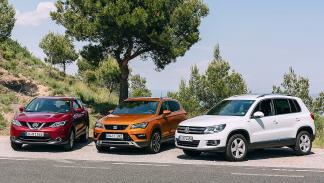 1 Comparativa: Seat Ateca/VWTiguan/Nissan Qashqai