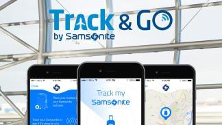 samsonite google app encuentra maleta travlr