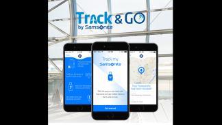 samsonite google app encuentra maleta bluetooth