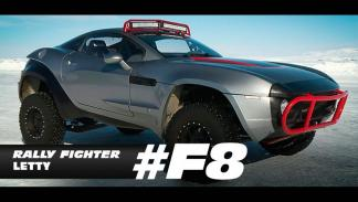 Coches hielo fast furious 8 rally fighter