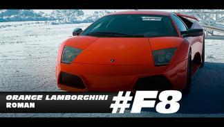 Coches hielo fast furious 8 lamborghini