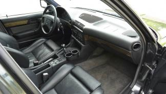 BMW M5 V12 asientos delanteros