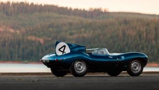 Jaguar D-Type 1955 lateral trasera