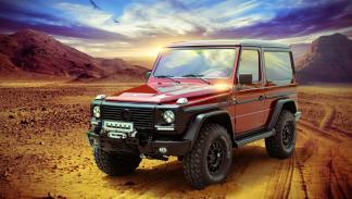 Mercedes Clase G Carbon Motors