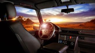 Mercedes Clase G Carbon Motors interior