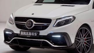Mercedes GLE 63 AMG Brabus parrilla
