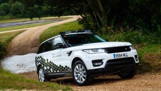 El sistema Terrain Based Speed (TBSA) de Land Rover