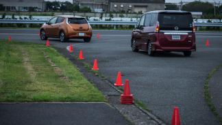 Test dinámico del Nissan ProPILOT