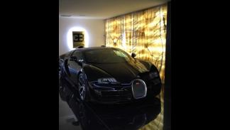 El nuevo Bugatti de Cristiano Ronaldo.