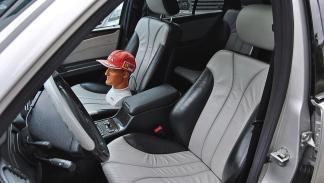 Mercedes E55 AMG de Michael Schumacher asientos