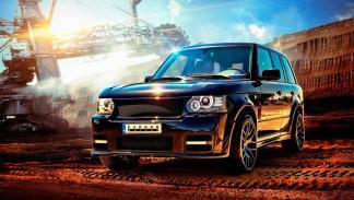 Range Rover Onyx Carbon Motors
