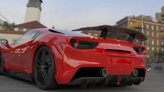Ferrari 488 DMC Orso alerón pequeño