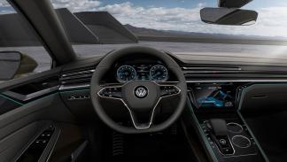 Volkswagen Sports Coupe GTE Concept interior 2