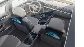 Volkswagen Sports Coupe GTE Concept interior aéreo