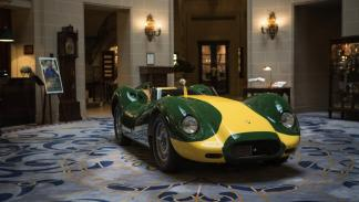Lister Jaguar Knobbly Stirling Moss expo