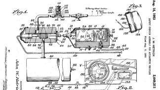 Patente del primer airbag de John Hetrick