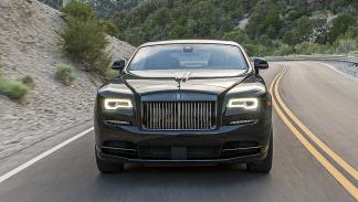 Prueba: Rolls-Royce Wraith/Ghost Black Badge morro