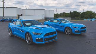 Roush RS Mustang delantera pareja