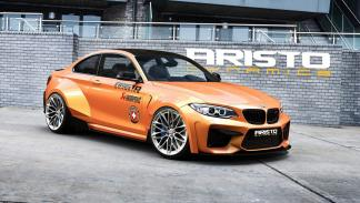 BMW M2 Aristo Dynamics lateral delantera
