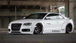 Audi A5 de Liberty Walk delantera