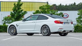 Prueba radical: BMW M4 Competition drift zaga lateral