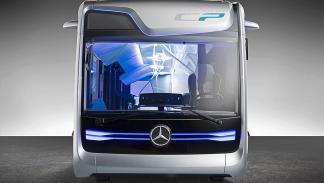 autobús autónomo de Mercedes