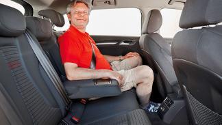 Audi A3 Sportback interior traseras