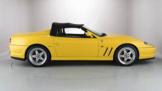 Ferrari 550 Barchetta lateral
