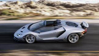 Lamborghini Centenario Roadster perfil