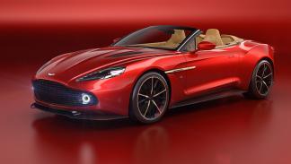 Aston Martin Vanquish Zagato Volante delantera