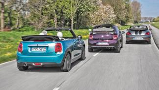 Comparativa DS3 Cabrio Mini Cabrio VW Beetle Cabrio