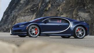 Bugatti Chiron Pebble Beach lateral