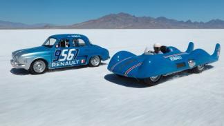 Renault Etoile Filante Renault Dauphine Bonneville delantera