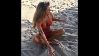 Marina Muntaner, novia de Marco Asensio. Foto: Instagram