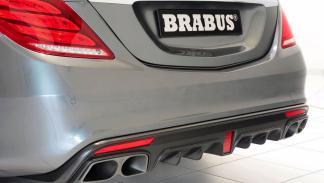 Mercedes Clase S Brabus 900 trasera