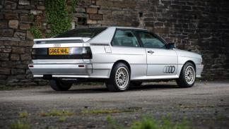 Audi Quattro Turbo trasera
