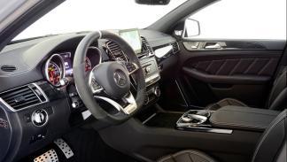 interior AMG GLE 63S Coupe LEDS