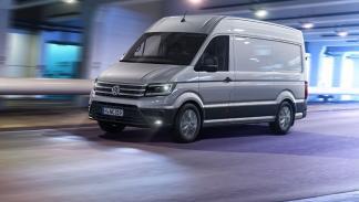 Volkswagen Crafter 2017 dinamica