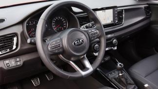 interior del nuevo Kia Rio