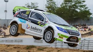 El andorrano Albert Llovera fue quinto en la primera semifinal del Rallycross de