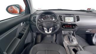 Interior del Kia Sportage 2.0 CRDi AWD