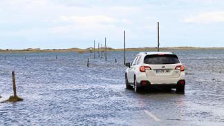 Subaru Outback Holy Island